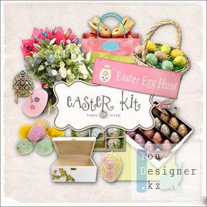 Скрап-набор - Пасхальные яйца / Scrap-kit - Easter Egg Hunt