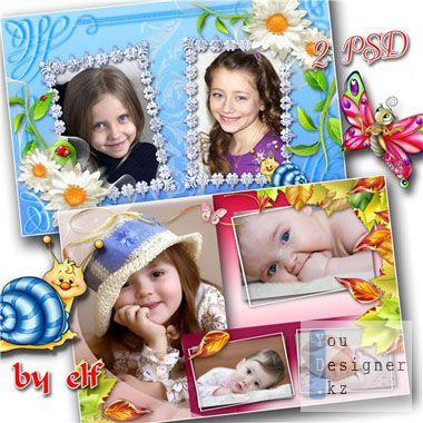 Рамка для фотошопа - Детская / Frame for photoshop - Children's