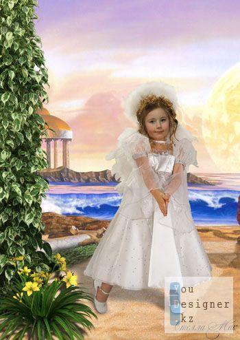 Детский шаблон - Ангелок