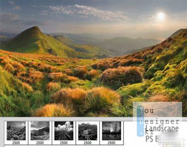 Пейзажный набор кистей / Landscape set brushes