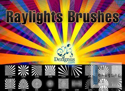 Кисти - лучи / Raylights and sunlights