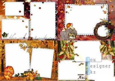 Рамки для фото - Осень 4