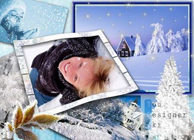 Рамка для фото – Зима