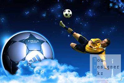 Шаблон - чемпионат футбола