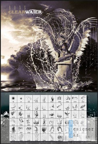 Кисти для фотошоп - Крылья Ангела / Brushes for photoshop - Wings of an Angel
