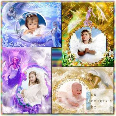 Рамки для фото - Ангел хранитель / Photoframe for a photo - guardian Angel