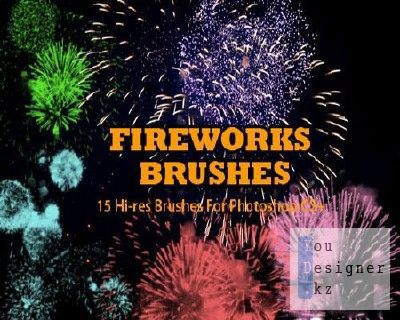 Кисти для Photoshop - Фейерверк / Fireworks brushes
