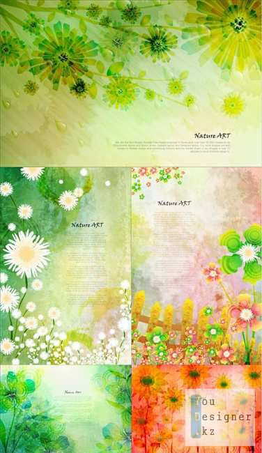 Nature Art Vector