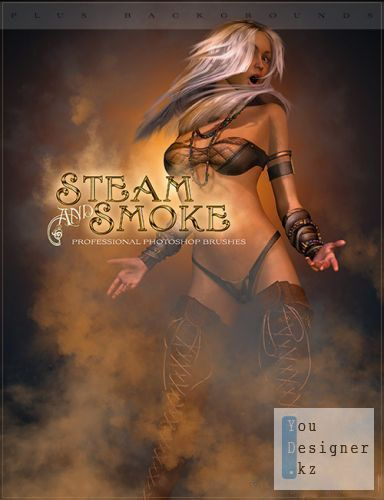 Кисти для Photoshop / Rons Steam and Smoke brushes