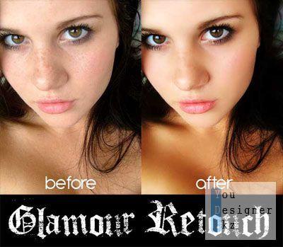Макросы - Гламурная ретушь / Glamour retouch