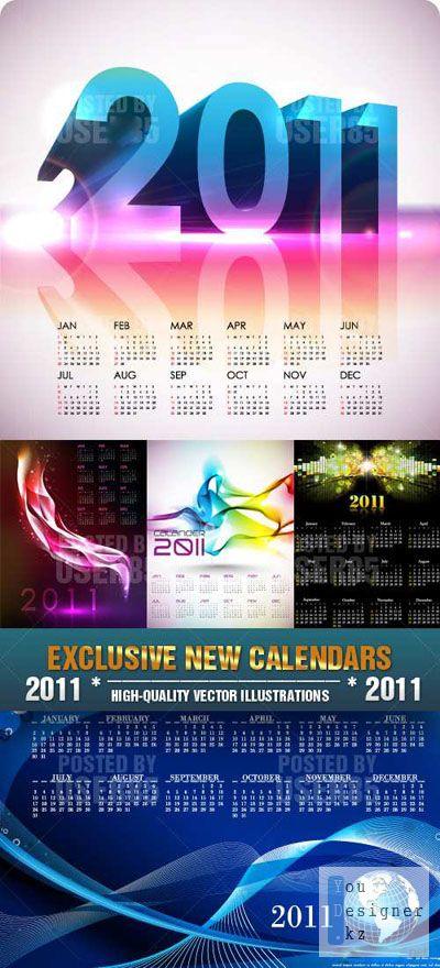 EXCLUSIVE NEW CALENDARS 2011