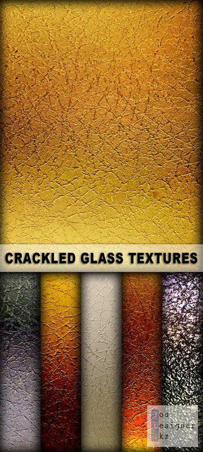 Текстуры - треснувшее стекло  / Cracked glass textures