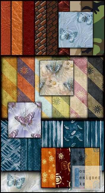 50 бесшовных текстур  / 50 Patterns