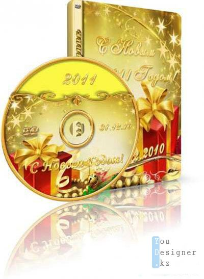 Обложка для DVD-бокса+наклейка на диск DVD