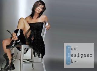 Шаблон для фотошопа-На стуле в ботинках