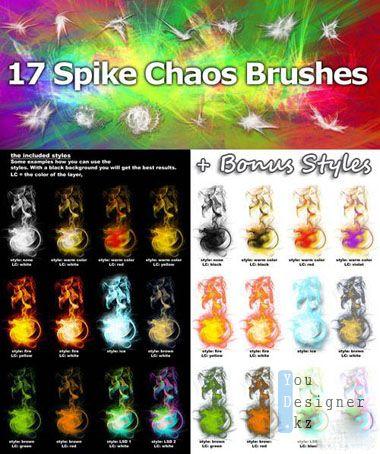 Хаотичные кисти / Spike Chaos Brushes