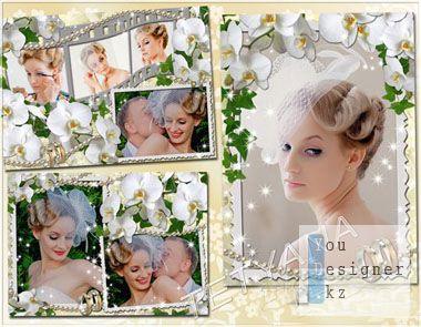 Свадебные рамки для фотошоп - История нашей любви