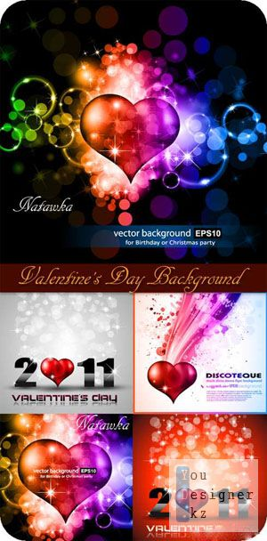 2011 Valentine's Day Background