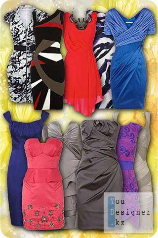 25 шаблонов вечерних платьев для фотомонтажа / 25 template evening dresses for photomontage