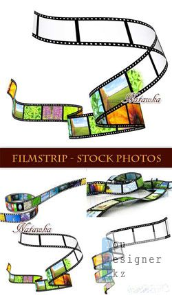Фотосток: Фотопленка / Filmstrip - Stock Photos