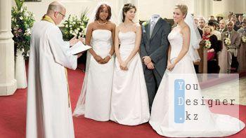 Шаблон для фотомонтажа- Многоженство законное / Template for the photomontage- legal polygamy
