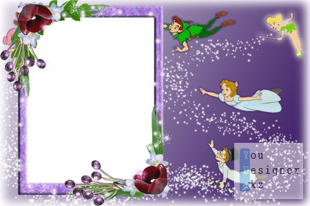 Рамка для фото -Сказочные эльфы