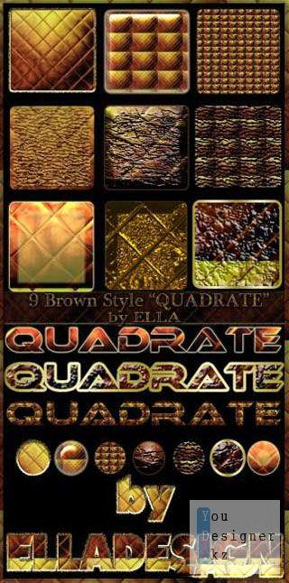 9 оригинальных коричневых стилей / 9 original brown styles