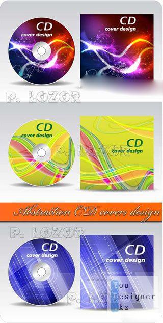 Абстрактные конверты для CD /  Abstraction CD covers design