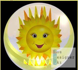 Футажи-эффект-Солнце мое