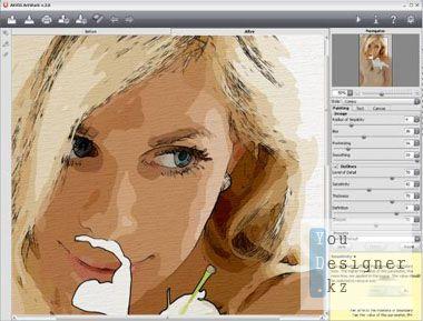 Плагин: AKVIS ArtWork v5.0 для Фотошопа