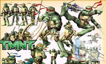 Clipart - ninja Turtles