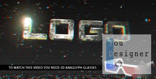 After Effects Project - Anaglyph Titles 108639