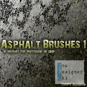Кисти для фотошоп / Asphalt Brushes Pack