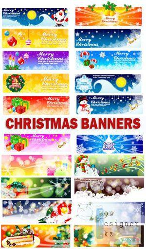 Chrismas banners | Рождественские баннеры