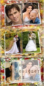 Рамка для Photoshop - Осенний журнал