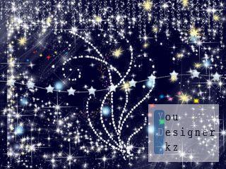 Клипарт - Блеск и звезды / Clipart - Shine and the stars