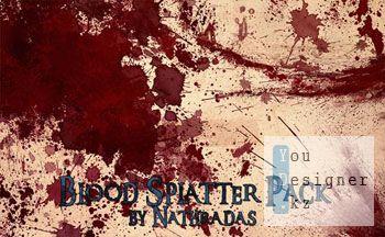 Кисти Кровь / Blood Splatter Pack