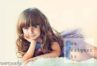 Детский шаблон - Голубоглазка