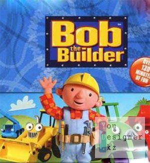 Раскраска - Боб строитель