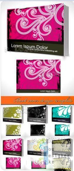 Обложки для книг векторный дизайн / Book cover design template - vector