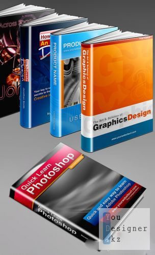 Макрос - Генератор книжных обложек / Action - book cover generator