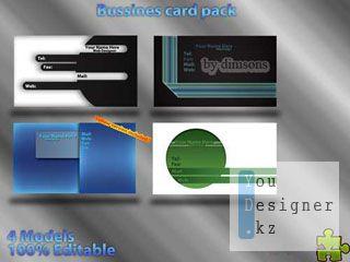 Коллекция бизнес карт (визиток) / Business card pack