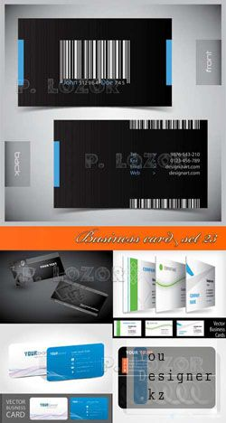 Business card set 23