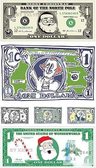 Комический американский доллар / Comic american dollars