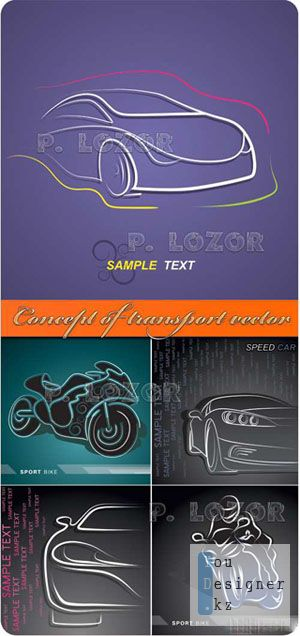 Concept of transport vector