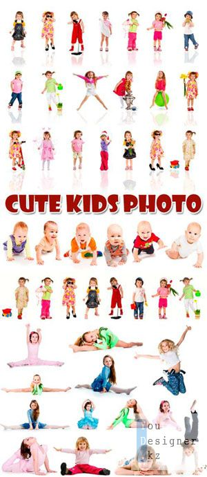 Фото сток / Stock Photo - Cute Kids