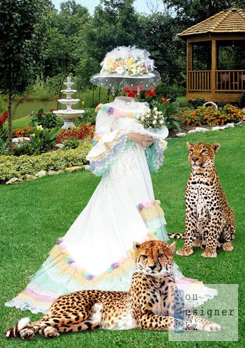 Дама с леопардами