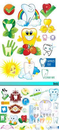 Векторный сток: Dental / Зубы
