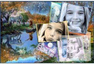 Детская фоторамка - Красивая легенда / Baby picture frame - a Beautiful legend