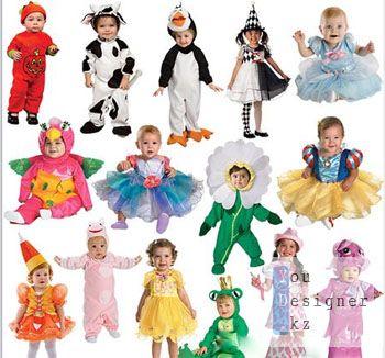 Детские фотошоп костюмы для девочек
